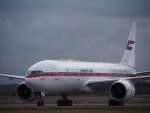 たにしさんが、新千歳空港で撮影したプレジデンシャル・フライト 777-2AN/ERの航空フォト(飛行機 写真・画像)