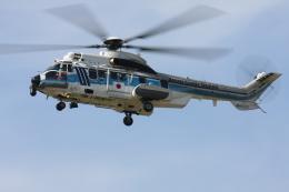 TAK_HND_NRTさんが、高松空港で撮影した海上保安庁 EC225LP Super Puma Mk2+の航空フォト(飛行機 写真・画像)