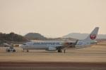 MIRAGE E.Rさんが、岡山空港で撮影した日本トランスオーシャン航空 737-8Q3の航空フォト(飛行機 写真・画像)