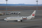 meijeanさんが、中部国際空港で撮影した日本トランスオーシャン航空 737-8Q3の航空フォト(飛行機 写真・画像)