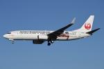 MOHICANさんが、福岡空港で撮影した日本トランスオーシャン航空 737-8Q3の航空フォト(飛行機 写真・画像)