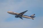 ぼのさんが、新千歳空港で撮影した全日空 777-281/ERの航空フォト(飛行機 写真・画像)