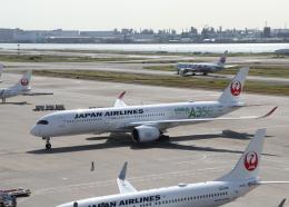銀苺さんが、羽田空港で撮影した日本航空 A350-941XWBの航空フォト(飛行機 写真・画像)
