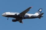 木人さんが、成田国際空港で撮影したオーロラ A319-111の航空フォト(飛行機 写真・画像)