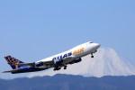 take_2014さんが、横田基地で撮影したアトラス航空 747-45EF/SCDの航空フォト(飛行機 写真・画像)