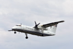 Gambardierさんが、岡南飛行場で撮影した国土交通省 航空局 DHC-8-315Q Dash 8の航空フォト(飛行機 写真・画像)