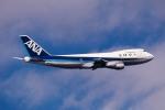 トロピカルさんが、羽田空港で撮影した全日空 747SR-81の航空フォト(飛行機 写真・画像)