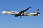islandsさんが、成田国際空港で撮影したシンガポール航空 777-312/ERの航空フォト(飛行機 写真・画像)