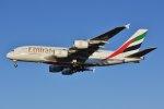 islandsさんが、成田国際空港で撮影したエミレーツ航空 A380-861の航空フォト(飛行機 写真・画像)