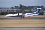 kumagorouさんが、仙台空港で撮影したANAウイングス DHC-8-402Q Dash 8の航空フォト(飛行機 写真・画像)
