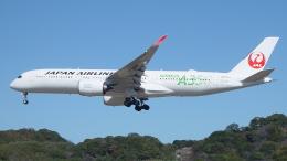 H.Chobyさんが、福岡空港で撮影した日本航空 A350-941XWBの航空フォト(飛行機 写真・画像)