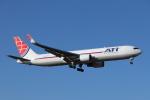 mogusaenさんが、横田基地で撮影したエア・トランスポート・インターナショナル 767-323/ER(BDSF)の航空フォト(飛行機 写真・画像)