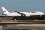 I.K.さんが、成田国際空港で撮影した日本航空 787-9の航空フォト(飛行機 写真・画像)