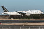I.K.さんが、成田国際空港で撮影したユナイテッド航空 777-222/ERの航空フォト(飛行機 写真・画像)