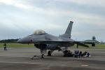 石鎚さんが、浜松基地で撮影したアメリカ空軍 F-16CM-50-CF Fighting Falconの航空フォト(飛行機 写真・画像)