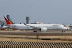 宮崎 育男さんが、成田国際空港で撮影したフィリピン航空 A350-941XWBの航空フォト(飛行機 写真・画像)