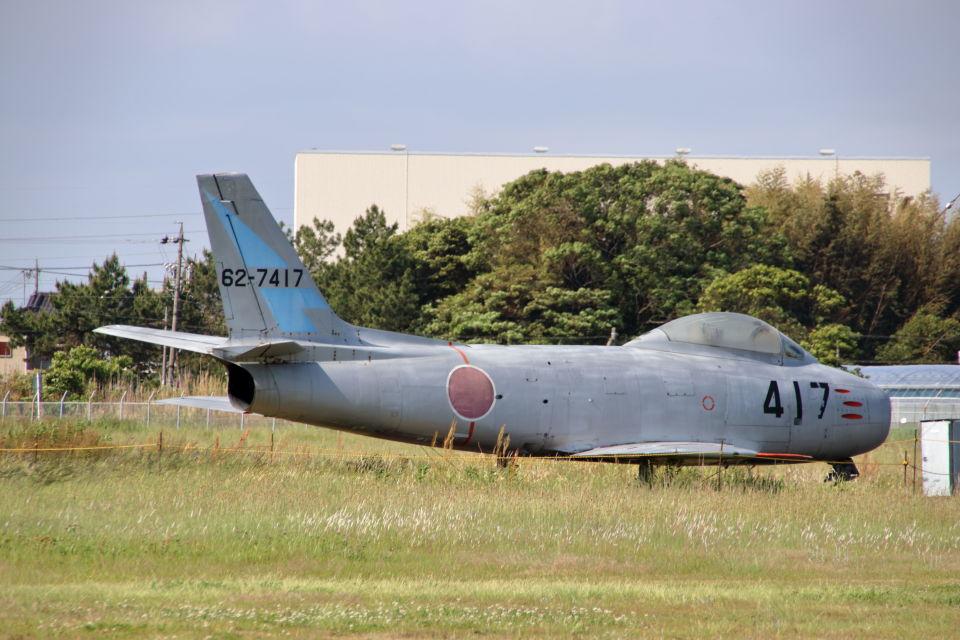 石鎚さんの航空自衛隊 North American F-86 Sabre (62-7417) 航空フォト