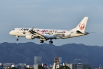 kurubouzuさんが、伊丹空港で撮影したジェイ・エア ERJ-190-100(ERJ-190STD)の航空フォト(飛行機 写真・画像)