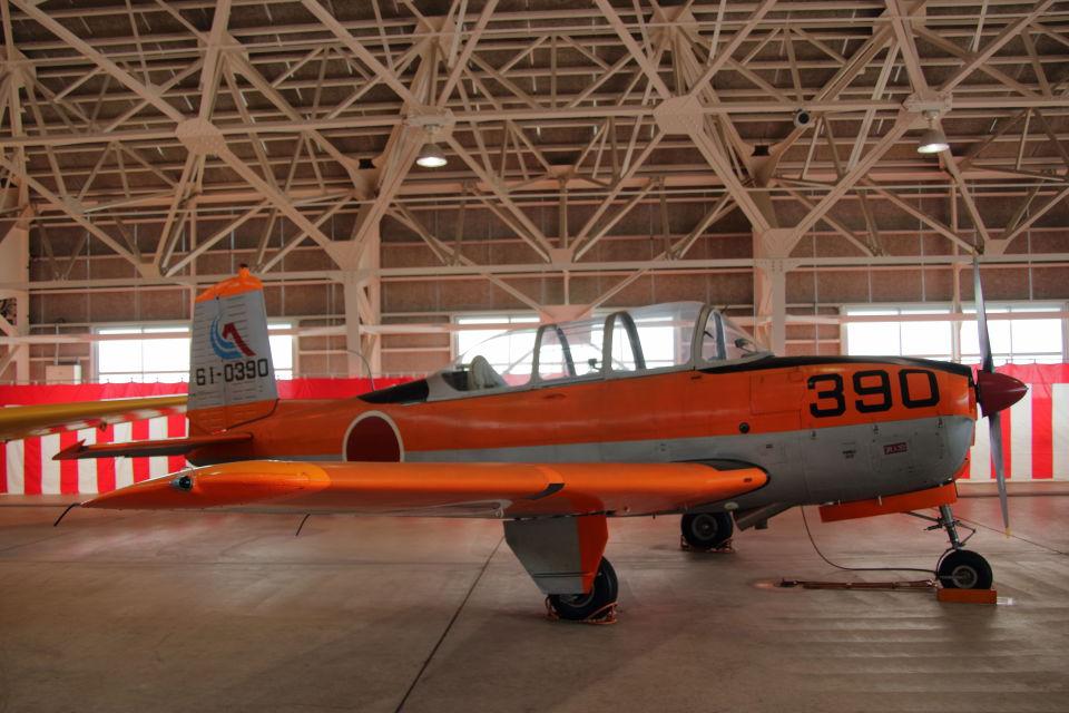 石鎚さんの航空自衛隊 Fuji T-34 (61-0390) 航空フォト