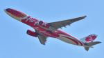 saoya_saodakeさんが、成田国際空港で撮影したエアアジア・エックス A330-343Eの航空フォト(飛行機 写真・画像)