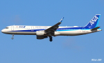 RINA-281さんが、小松空港で撮影した全日空 A321-211の航空フォト(飛行機 写真・画像)