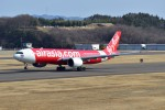 しめぎさんが、福島空港で撮影したタイ・エアアジア・エックス A330-941の航空フォト(飛行機 写真・画像)