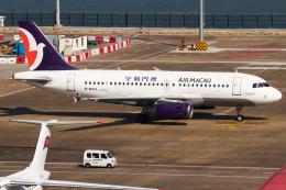 Henry Chowさんが、マカオ国際空港で撮影したマカオ航空 A319-132の航空フォト(飛行機 写真・画像)