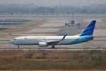 tsubameさんが、スワンナプーム国際空港で撮影したガルーダ・インドネシア航空 737-86Nの航空フォト(飛行機 写真・画像)