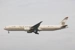 だいすけさんが、スワンナプーム国際空港で撮影したエティハド航空 777-3FX/ERの航空フォト(飛行機 写真・画像)