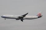 だいすけさんが、スワンナプーム国際空港で撮影したチャイナエアライン A340-313Xの航空フォト(飛行機 写真・画像)