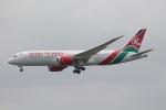 だいすけさんが、スワンナプーム国際空港で撮影したケニア航空 787-8 Dreamlinerの航空フォト(飛行機 写真・画像)