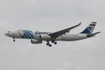 だいすけさんが、スワンナプーム国際空港で撮影したエジプト航空 A330-343Xの航空フォト(飛行機 写真・画像)