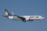 Mr.boneさんが、那覇空港で撮影したスカイマーク 737-86Nの航空フォト(飛行機 写真・画像)