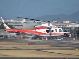 ONOさんが、名古屋飛行場で撮影した青森県防災航空隊 412EPIの航空フォト(飛行機 写真・画像)