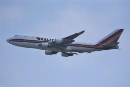 kumagorouさんが、嘉手納飛行場で撮影したカリッタ エア 747-446(BCF)の航空フォト(飛行機 写真・画像)