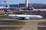 まいけるさんが、羽田空港で撮影したキャセイパシフィック航空 A330-343Xの航空フォト(飛行機 写真・画像)