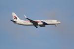 OMAさんが、シンガポール・チャンギ国際空港で撮影したマレーシア航空 737-8H6の航空フォト(飛行機 写真・画像)