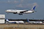 Cスマイルさんが、成田国際空港で撮影したユナイテッド航空 777-224/ERの航空フォト(飛行機 写真・画像)