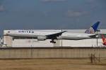 Cスマイルさんが、成田国際空港で撮影したユナイテッド航空 777-322/ERの航空フォト(飛行機 写真・画像)