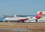 銀苺さんが、成田国際空港で撮影したヴァージン・アトランティック航空 A340-313Xの航空フォト(飛行機 写真・画像)