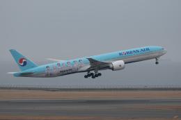 じゃりんこさんが、中部国際空港で撮影した大韓航空 777-3B5/ERの航空フォト(飛行機 写真・画像)