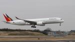 raichanさんが、成田国際空港で撮影したフィリピン航空 A350-941XWBの航空フォト(飛行機 写真・画像)