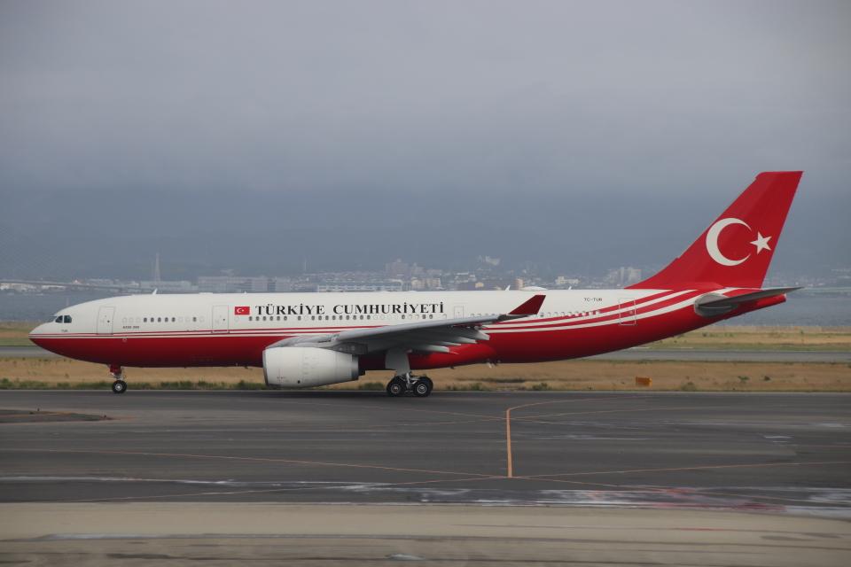 だいすけさんのトルコ政府 Airbus A330-200 (TC-TUR) 航空フォト