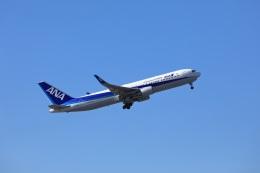 garrettさんが、成田国際空港で撮影した全日空 767-381/ERの航空フォト(飛行機 写真・画像)