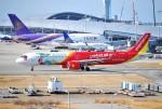 リュウキさんが、関西国際空港で撮影したベトジェットエア A321-271NXの航空フォト(飛行機 写真・画像)
