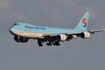 Cスマイルさんが、成田国際空港で撮影した大韓航空 747-8B5F/SCDの航空フォト(飛行機 写真・画像)
