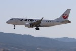 ゆう改めてさんが、熊本空港で撮影したジェイ・エア ERJ-170-100 (ERJ-170STD)の航空フォト(飛行機 写真・画像)
