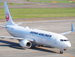 むらさめさんが、新千歳空港で撮影した日本航空 737-846の航空フォト(飛行機 写真・画像)