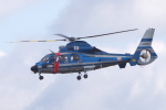 yabyanさんが、名古屋飛行場で撮影した静岡県警察 AS365N1 Dauphin 2の航空フォト(飛行機 写真・画像)