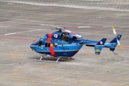 yabyanさんが、名古屋飛行場で撮影した秋田県警察 BK117C-1の航空フォト(飛行機 写真・画像)